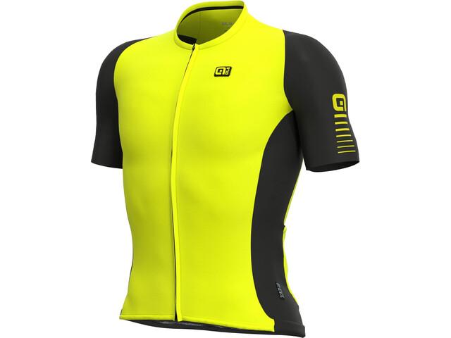 Alé Cycling R-EV1 Race 2.0 SS Jersey Men, fluo yellow